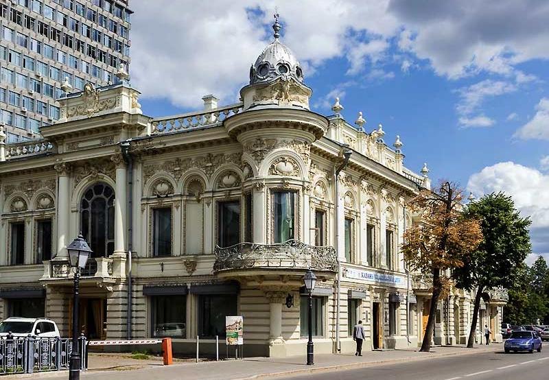 Дом Ушковой Казань