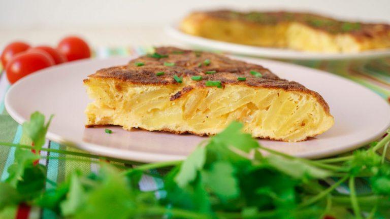 Традиционная испанская версия блюда
