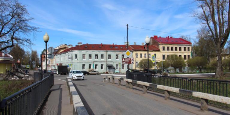 Мост в Шлиссельбурге