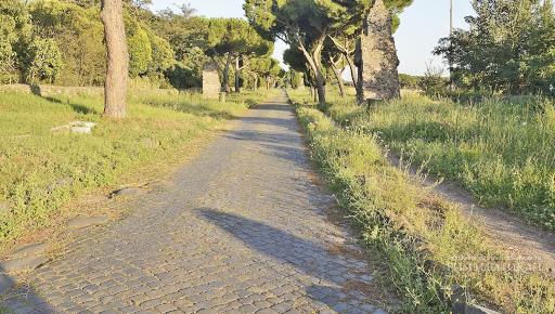 Вид Аппиевой дороги