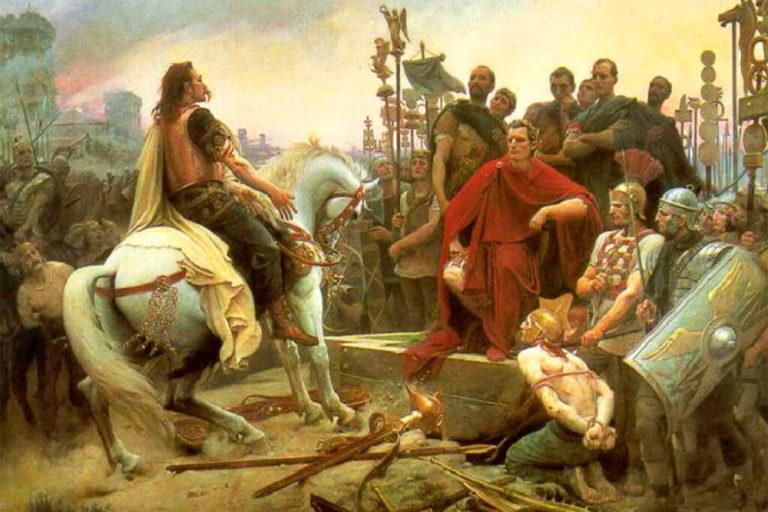 Варвары и Юлий Цезарь