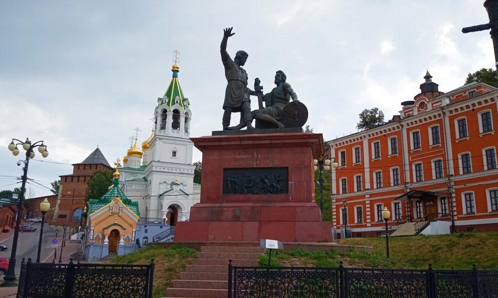 Памятник гражданину Минину и князю Пожарскому
