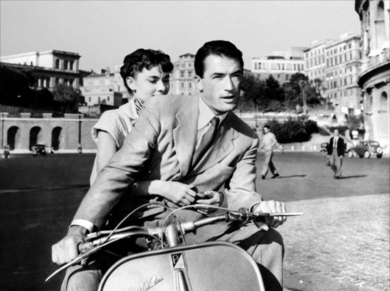 Скутер в Риме