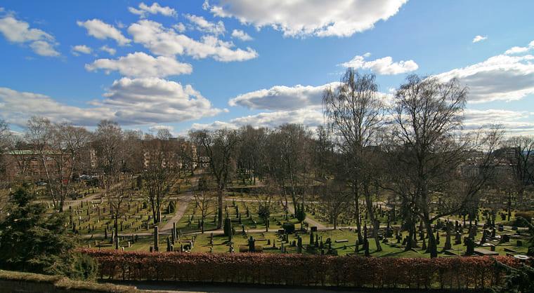Спасское кладбище Осло