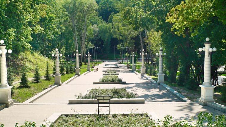 Центральный парк в Воронеже