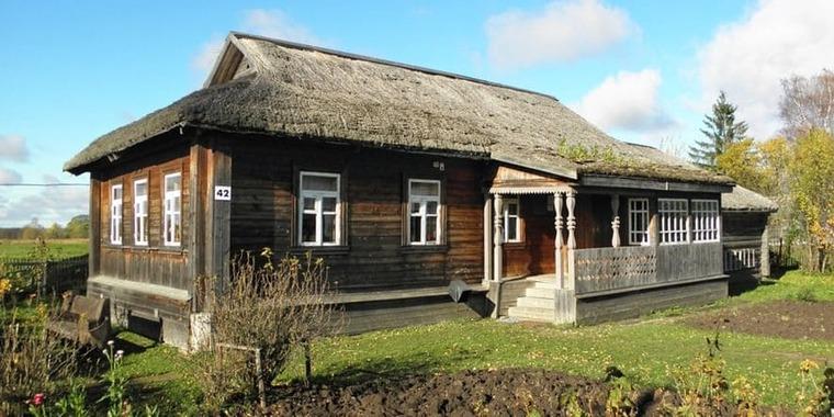 Дом-музей Юрия Гагарина в Клушине