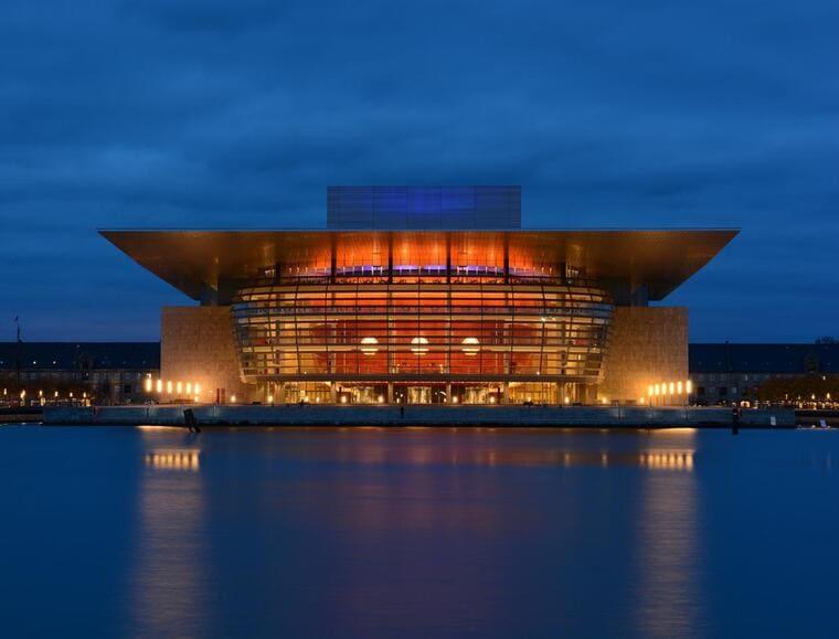 Оперный театр в Копенгагене