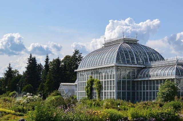 Ботанический сад университета Турку