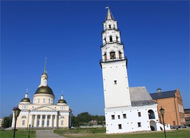 Невьянская наклонная башня, Свердловская область