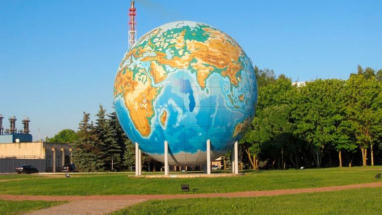 Глобус в Дорогобуже