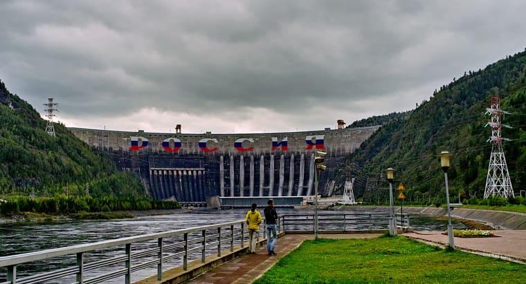 Саяно-Шушенская ГЭС, Красноярский край/Хакасия