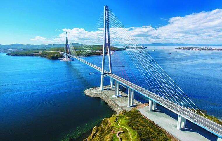 Вантовые мосты, Владивосток