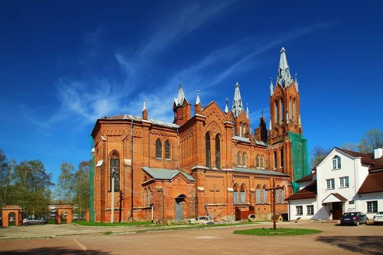 Католический костел в Смоленске