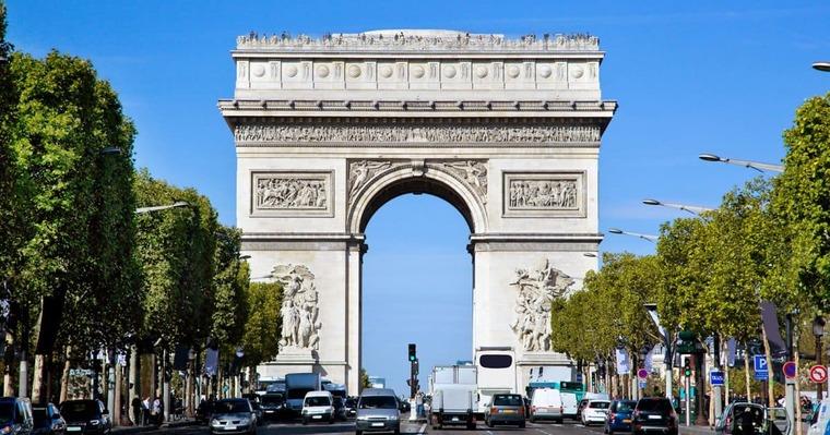 Триумфальная арка (г. Париж)