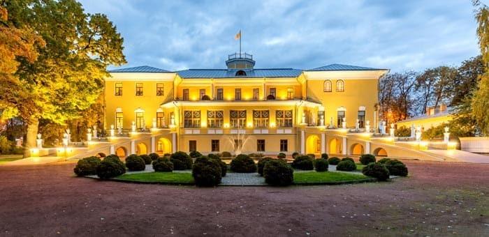 Губернаторский дом и сад в Ярославле