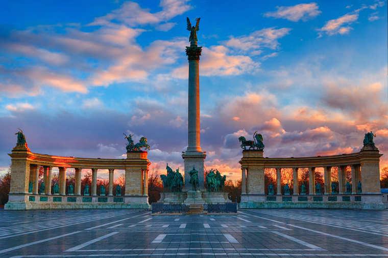 Площадь Героев в Будапешта