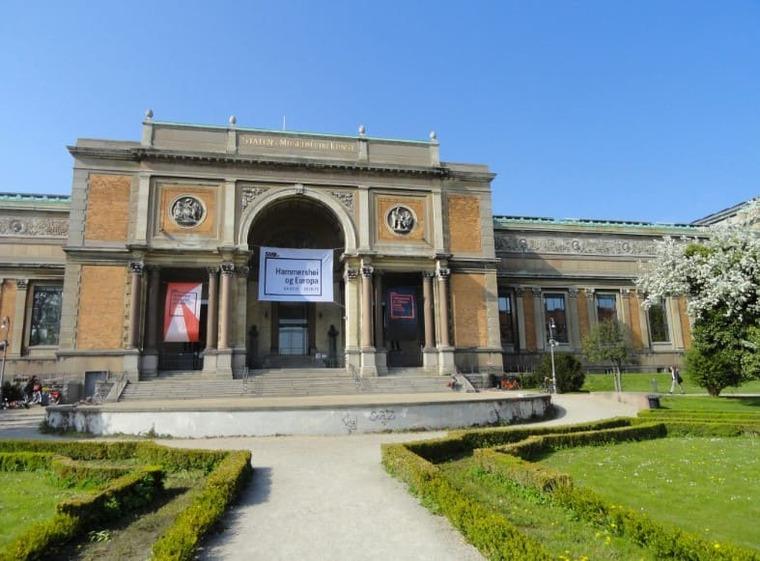 Государственный музей искусств в Копенгагена