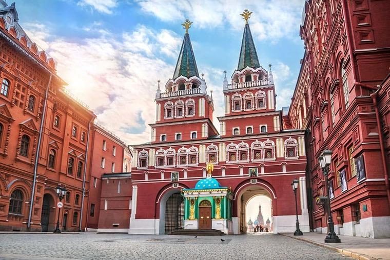 Площадь в Москве