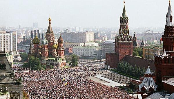 Советское время, Красная площадь