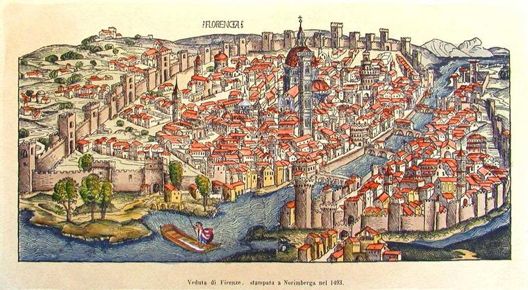 Флоренция 1499 – 1506 годы