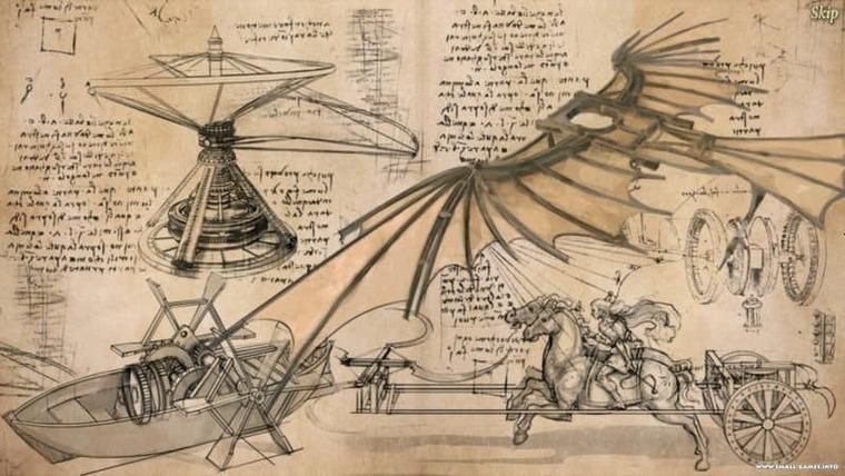 Занимательные факты из жизни Леонардо да Винчи