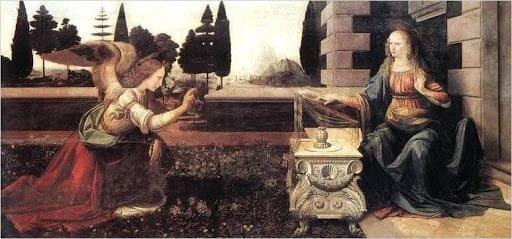 Леонардо да Винчи и его первая картина