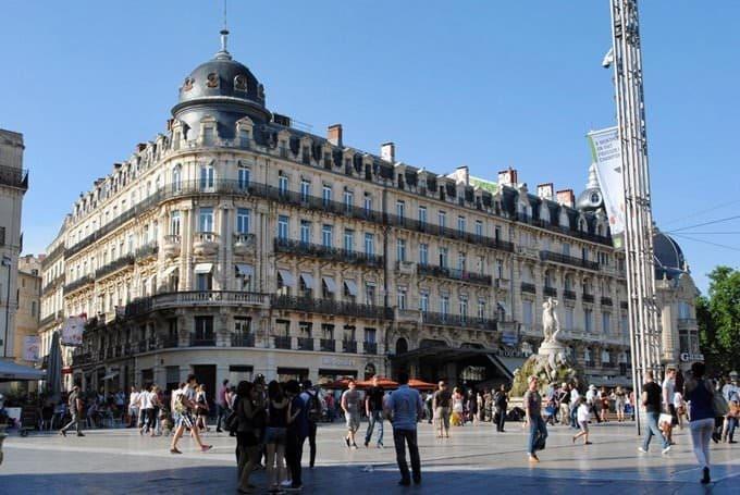 город Монпелье в Франция