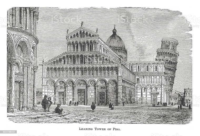 собор Санта-Мария Асунта и Пизанская башня