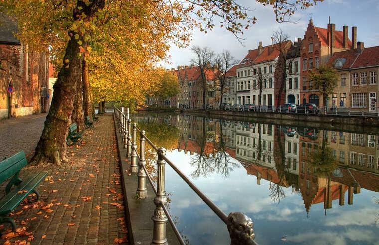 Бельгия осенью