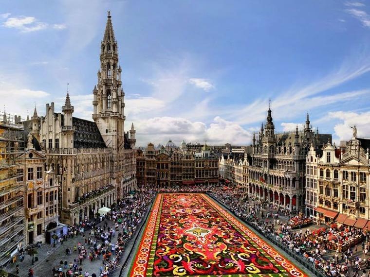 Бельгия главная площадь