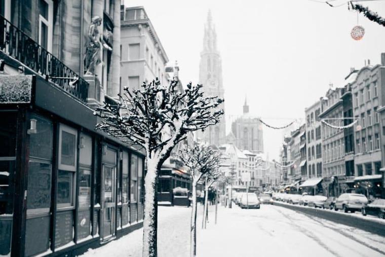 Зима в Брюссели