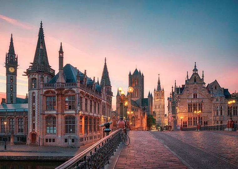 Красивые виды Бельгии