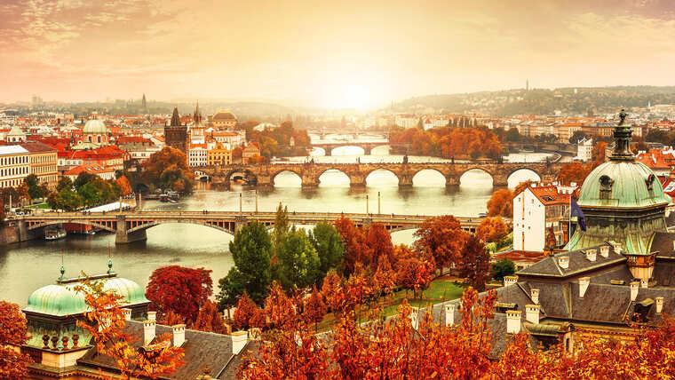 Чехия в октябре
