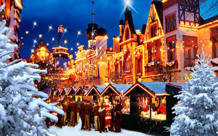 Чехия в декабре