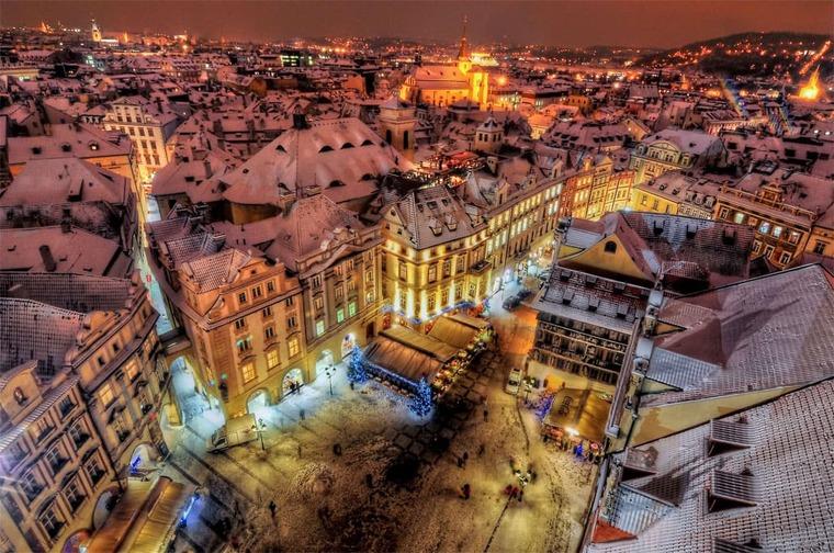 Чехия в январе
