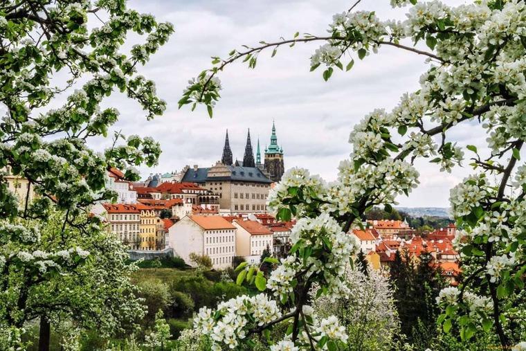 Чехия в марте