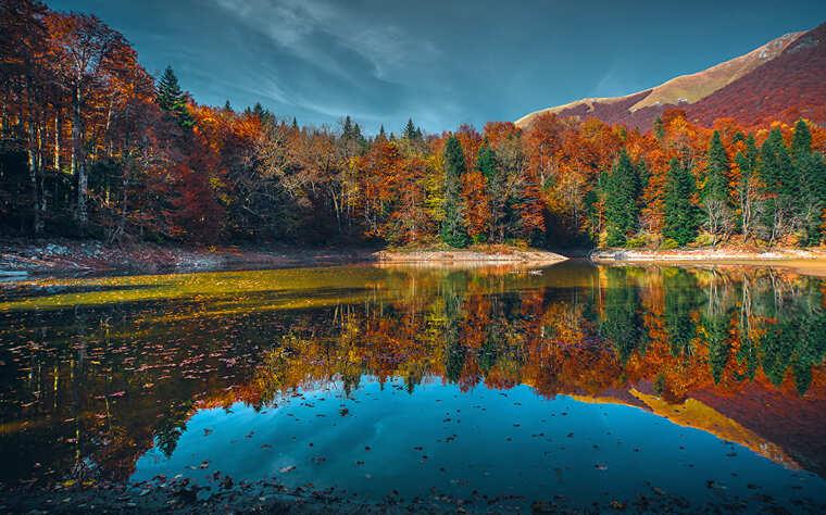 Черногория осенью