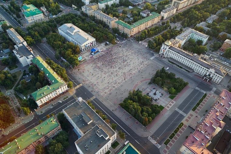 Соборная площадь в Белгороде