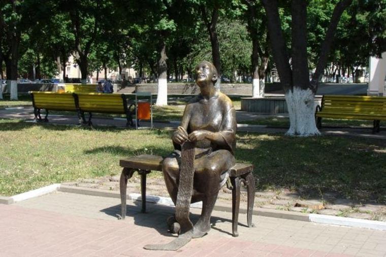 Воспоминание памятник в Белгороде
