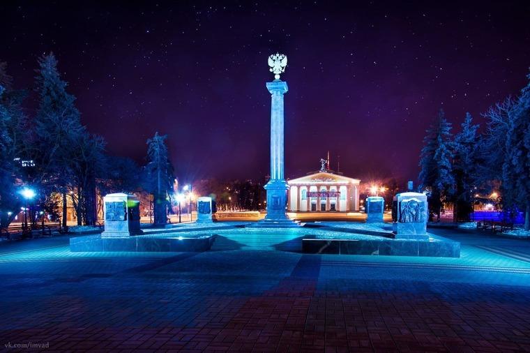Стела «Белгород – город воинской славы»