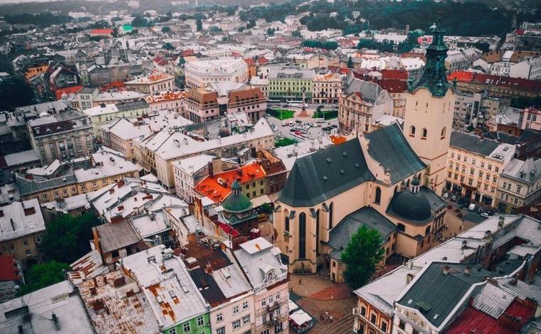 Старый город во Львове