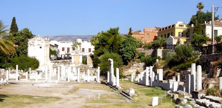 Римская Агора или рынок