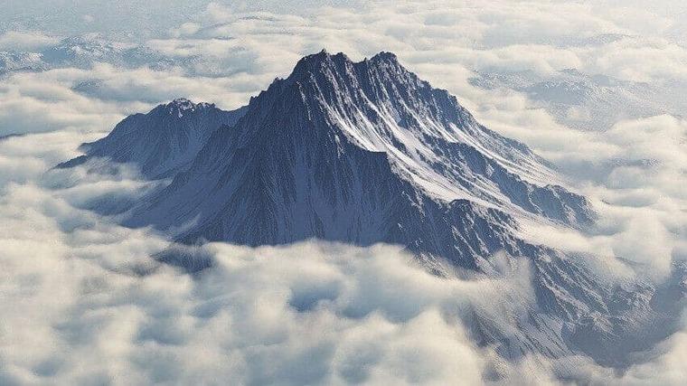 Гора Олимп на острове Халкидики