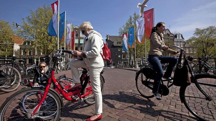 Люди в Голландии