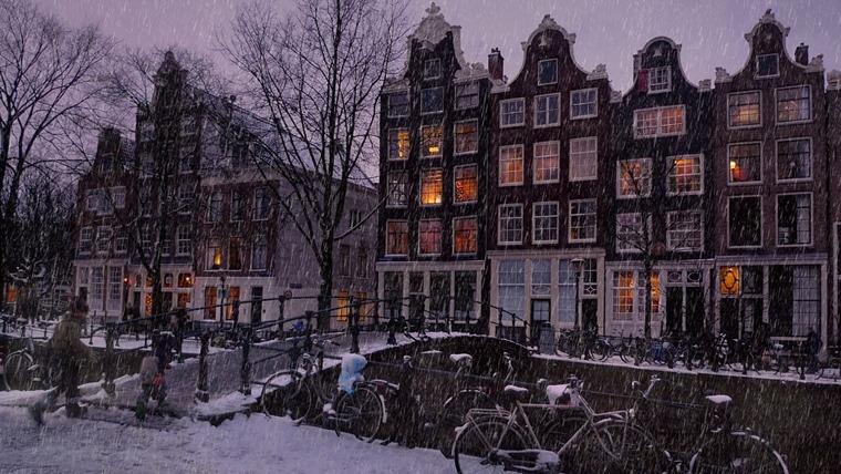 Нидерланды зимой