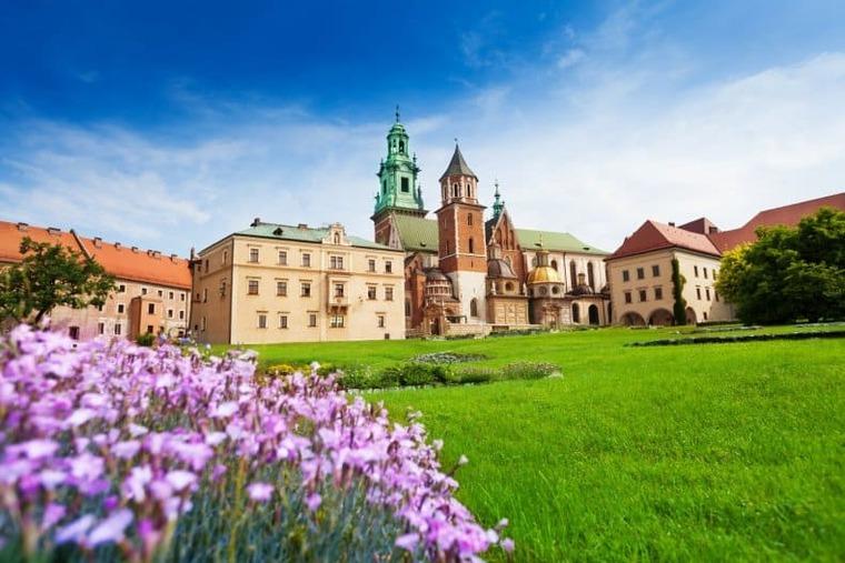 Польша весной