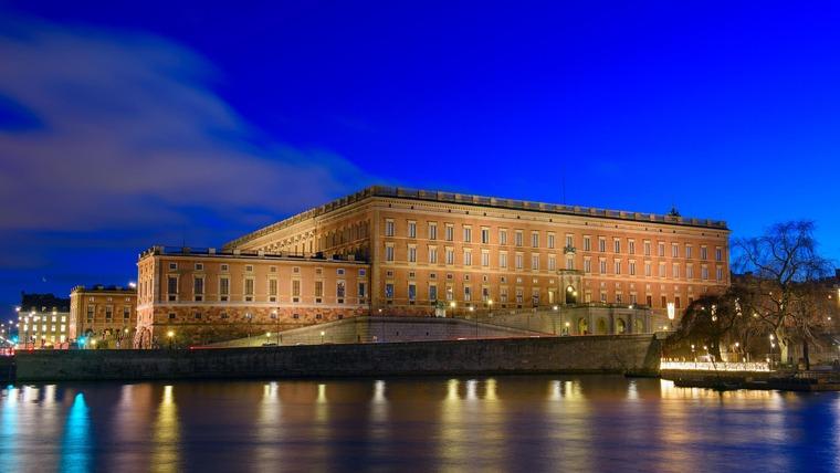 Королевский дворец - острова Стадхольмен