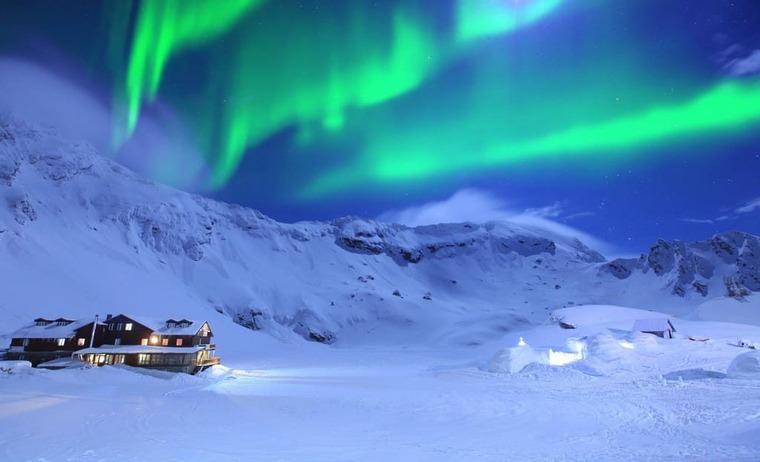 Швеция зимой