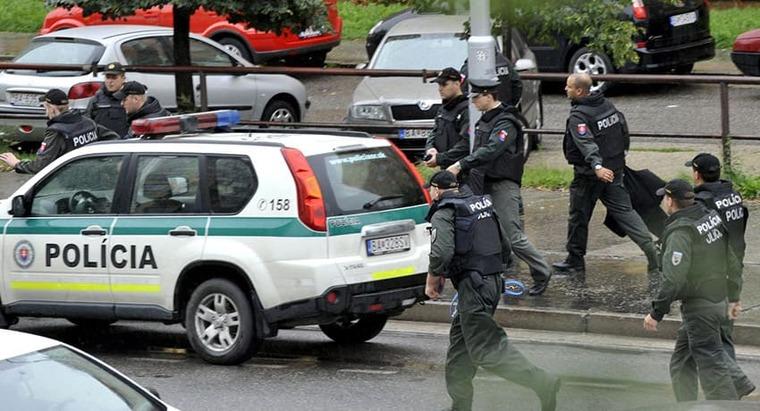 Безопасность в Словакии