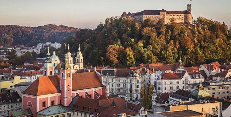 Любляна Старый город